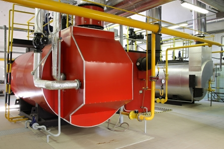 Gas steam boiler Stock Photo - 5425128