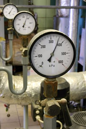 Manometer pressure Stock Photo - 5457779