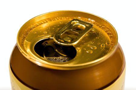 dewy: Dewy cans of beer