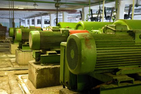 Old electric motors Stock Photo - 5621666