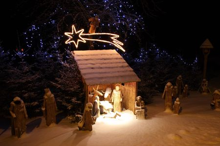 Nativity scene Stock Photo - 6201691