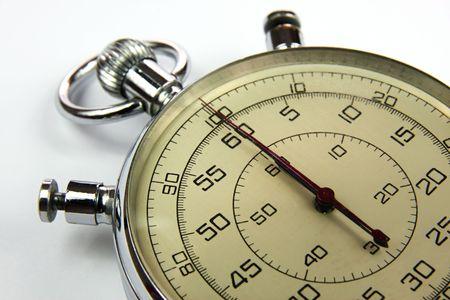 Analog stopwatch 版權商用圖片 - 6366613