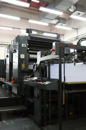 Offset machine photo
