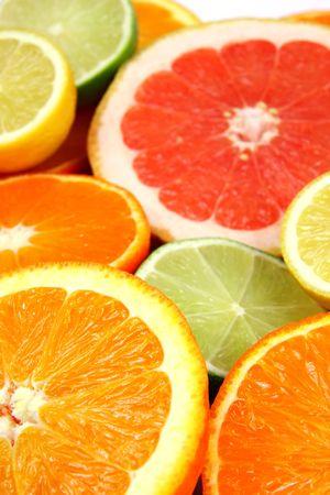 Colorful Citrus Fruits