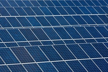 cobradores: Colectores solares Foto de archivo