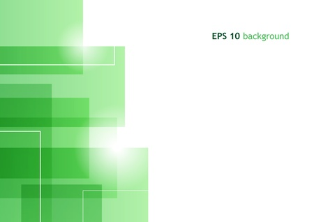green abstract background Stock Photo - 9401128