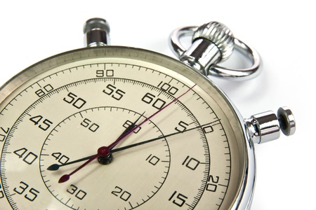 Analog stopwatch photo
