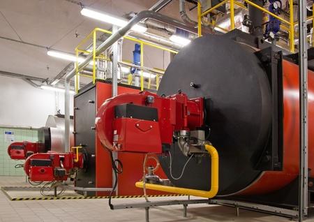 Gas boilers 版權商用圖片 - 9897561