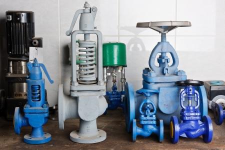 Pressure valves  Stock Photo