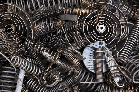 Springs and coils Stock Photo