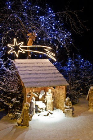 Nativity scene Stock Photo - 11489341