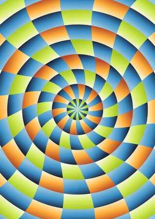 Illustration abstract circles background Stock Illustration - 11713349