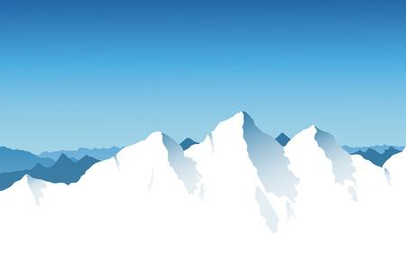 mountaintop: Mountain Range Background