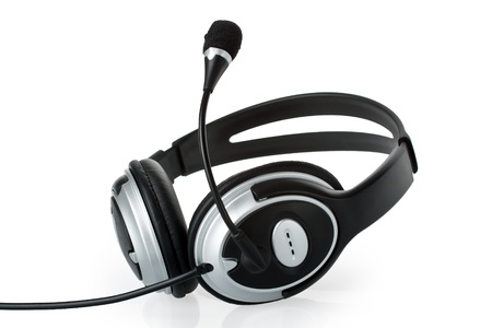 Headset with microphone Stock Photo - 12222377
