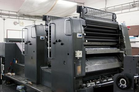 offsetdruck: Offset-Maschine