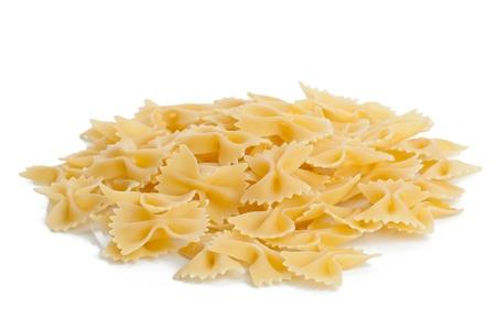 Italian pasta - Farfalle or bow tie pasta