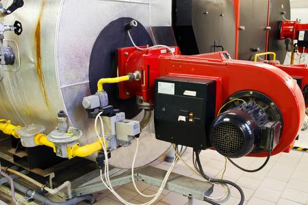 Industrial gas boiler 版權商用圖片