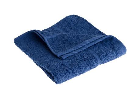 Towel isolated on white background photo