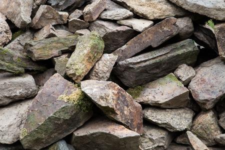 boulders: Big pile of rocks and boulders