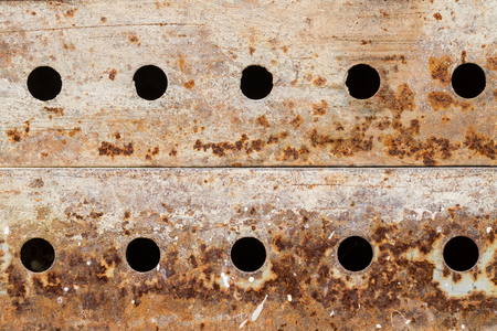 inaction: Rusty metal grunge background