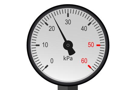 gage: Manometer pressure, Industrial pressure gauge