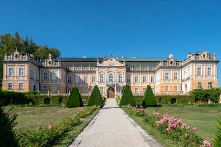 Chateau Nove Hrady. Chateau complex is being called Small Schonbrunn or Czech Versailles. Czech Republic