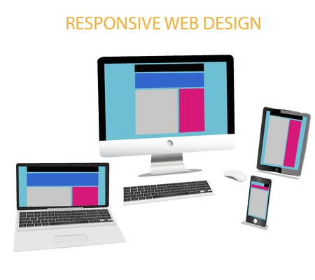 Responsive Web Design Stock Vector - 16933537