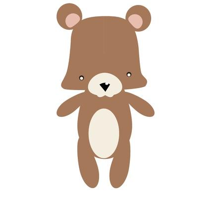 Illustration of cute Bear graphic