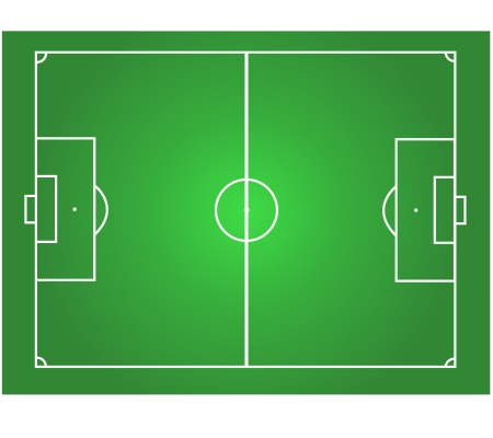 soccer field horizontal graphic