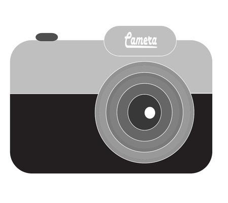 cam gear: Vintage Camera icons Illustration