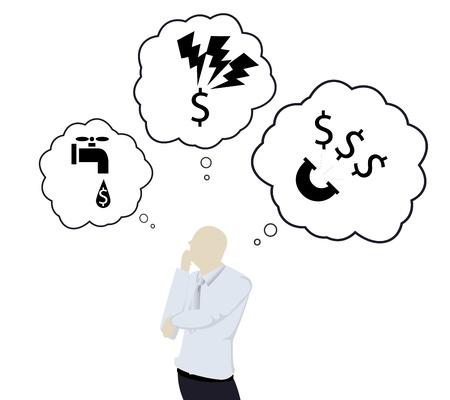 expenses: Gastos en mes Vectores