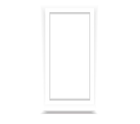 Vertical White Frame Paper Background with drop graphic vector eps10