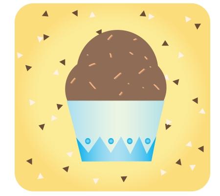 cupcake Stock Vector - 17997638