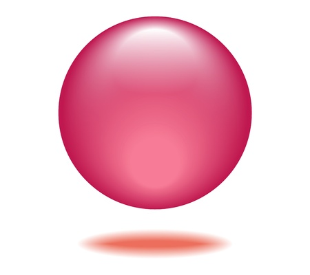 Pink Orb Graphic