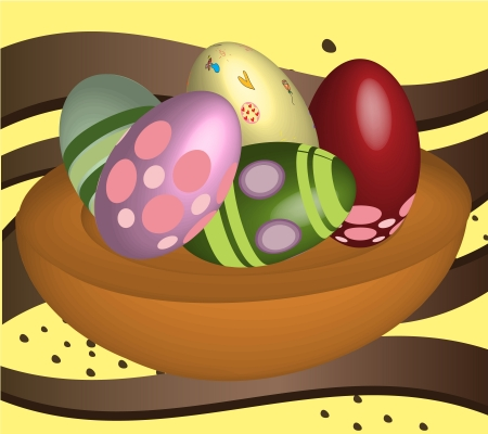 This background for  Easter day Stock Vector - 18053763