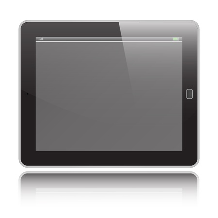 Tablet  graphic Stock Vector - 18423109