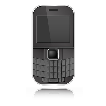 qwerty: Qwerty Mobile graphic vector eps10