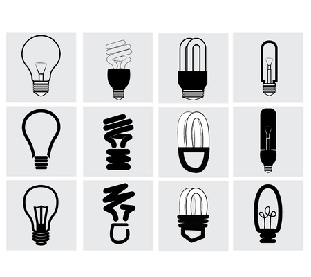 fluorescent light: Bulb Icon