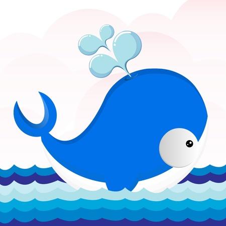 sea horizon: The beautiful dolphin swims on sea
