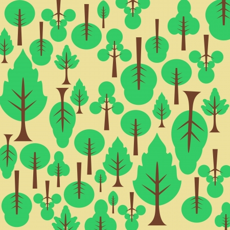 Background pattern tree  For the fabric