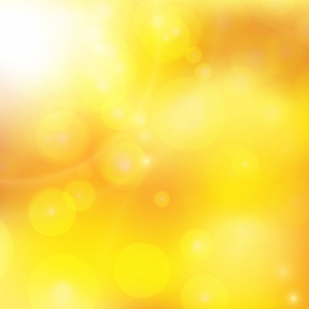 abstract background with orange sun rays Vector