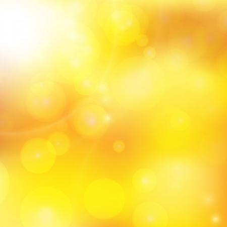 abstracte achtergrond met oranje stralen van de zon Stock Illustratie
