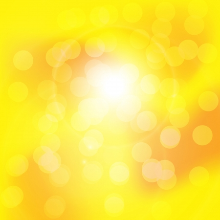 Background texture with warm sun and lens flare