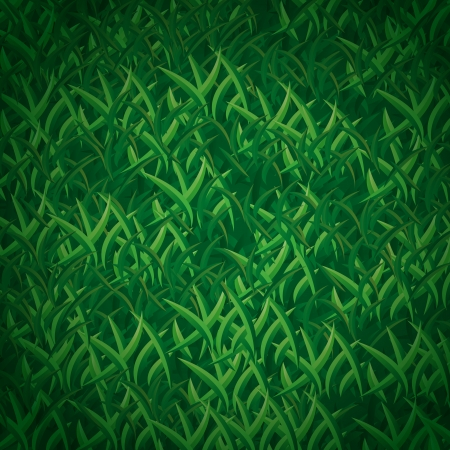 Fresh grass seamless vector pattern