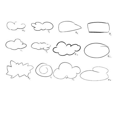 speech cloud graphic