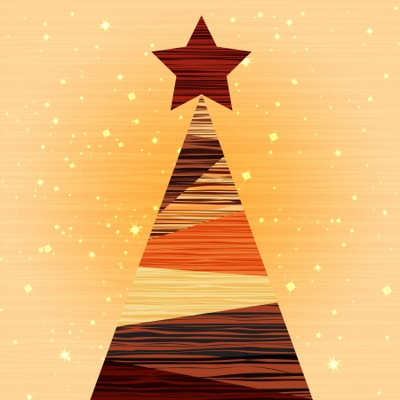 Wood Christmas background with luxury background