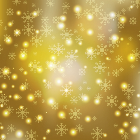 gold luxury with star bling background in christmas day