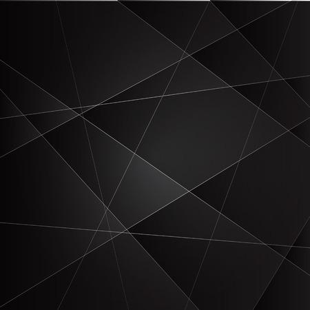 Vecteur de fond abstrait avec des couches de métal gris foncé Banque d'images - 28513308