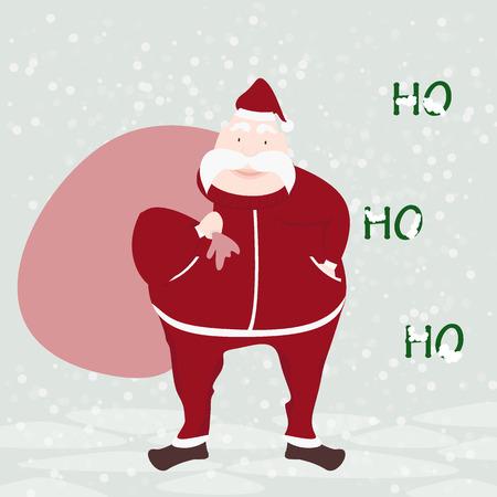 Heureux Père Noël vecteur visage voeux illustration isolé sur fond blanc Banque d'images - 52853346
