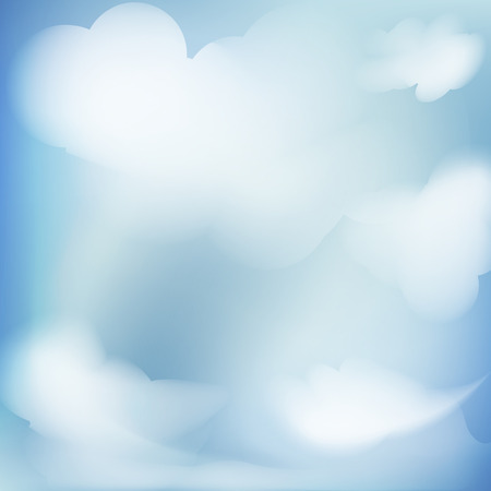 abstract background blue sky Illustration
